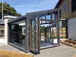 new showroom conservatory solarlux wintergarden peninsula
