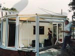 Building one of the first conservatories with Barrie Grayson