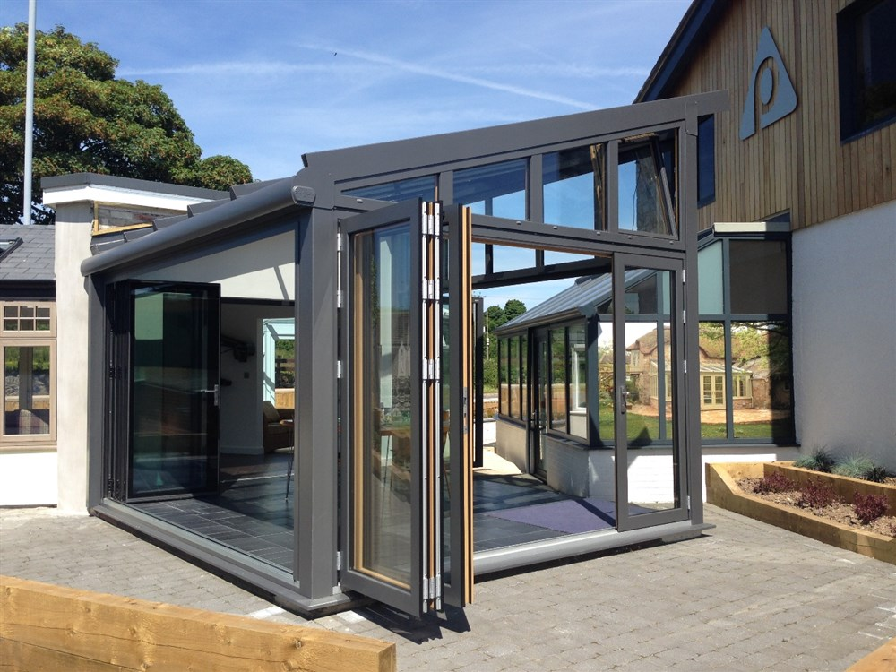 Solarlux Wintergarden ... & New Solarlux wintergarden at our showrooms in Star Anglesey