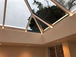 Maximising on the light with the roof lantern